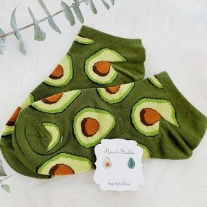 Accessories - Avacado socks and earrings gift set